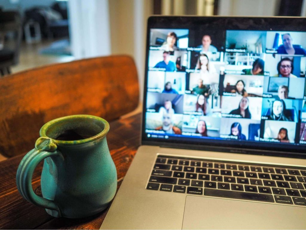 reuniones por videollamadas trabajo remoto