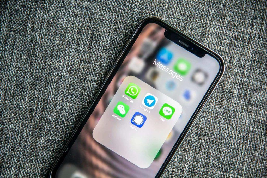 aplicaciones de mensajeria whatsapp telegram